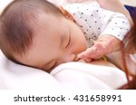 breastfeeding | Shutterstock . vector #431658991