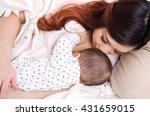 breastfeeding | Shutterstock . vector #431659015