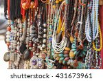 asian hand made souvenirs made... | Shutterstock . vector #431673961