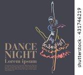 dance | Shutterstock .eps vector #431746219