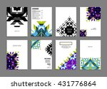 abstract background. geometric...   Shutterstock .eps vector #431776864