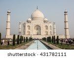 enchanting taj mahal | Shutterstock . vector #431782111