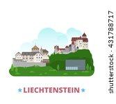 liechtenstein country design... | Shutterstock .eps vector #431788717