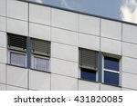 apartment building | Shutterstock . vector #431820085