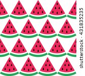 vector seamless pattern with... | Shutterstock .eps vector #431835235