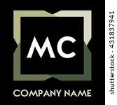 mc letters business logo...