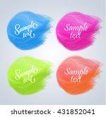 vector elements for headers ...   Shutterstock .eps vector #431852041