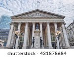 building of royal exchange in... | Shutterstock . vector #431878684