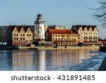 fishing village   ethnographic... | Shutterstock . vector #431891485