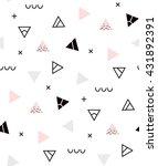 seamless pattern geometric... | Shutterstock .eps vector #431892391