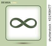 infinity sign | Shutterstock .eps vector #431908477