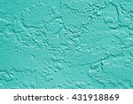 teal or turquoise aqua mint... | Shutterstock . vector #431918869