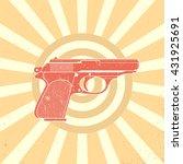 Classic Pistol  Old Handgun...
