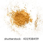 mineral powder isolated on... | Shutterstock . vector #431938459