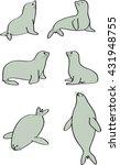seal vector | Shutterstock .eps vector #431948755