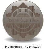 premium quality beer retro... | Shutterstock .eps vector #431951299