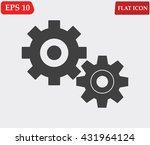 settings icon vector    Shutterstock .eps vector #431964124