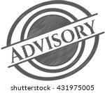 advisory drawn in pencil | Shutterstock .eps vector #431975005