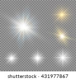 abstract image of lighting... | Shutterstock .eps vector #431977867