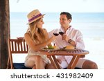 attractive young couple making...   Shutterstock . vector #431982409