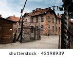 Authentic Gate To Auschwitz...