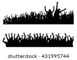 party hard | Shutterstock .eps vector #431995744