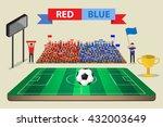 Soccer Football Feild With...