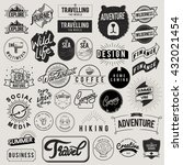 icon symbol badge logo... | Shutterstock .eps vector #432021454