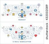 financial management.... | Shutterstock .eps vector #432032089