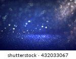 glitter vintage lights... | Shutterstock . vector #432033067