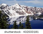 Reflection Of Crater Lake ...
