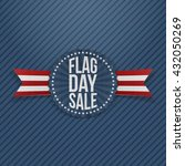 Flag Day Sale Patriotic Emblem...
