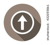 arrow  icon   isolated. flat ... | Shutterstock .eps vector #432055861