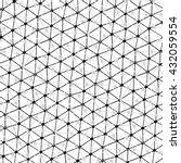modern stylish pattern of mesh. ... | Shutterstock .eps vector #432059554