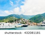 beautiful view of the port in... | Shutterstock . vector #432081181