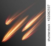 Different Meteors  Comets And...