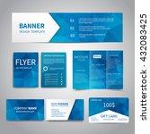banner  flyers  brochure ... | Shutterstock .eps vector #432083425