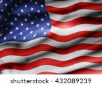usa flag | Shutterstock . vector #432089239