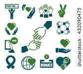 charity  kindness  donate icon... | Shutterstock .eps vector #432090475