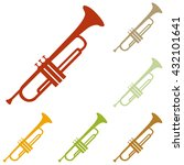 Musical Instrument Trumpet Sign
