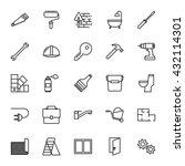 construction  repair tools. set ... | Shutterstock .eps vector #432114301