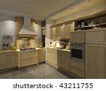 kitchen interior and furniture | Shutterstock . vector #43211755