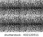 seamless pattern of tiger skin... | Shutterstock .eps vector #432120511