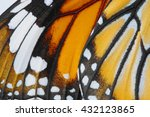macro butterfly wing background ... | Shutterstock . vector #432123865