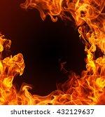 fire flames   Shutterstock . vector #432129637