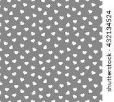 seamless heart pattern... | Shutterstock .eps vector #432134524