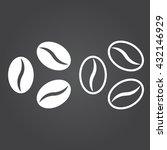 coffee beans iline icon ...