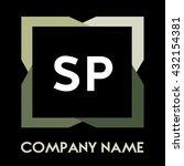 sp letters business logo...