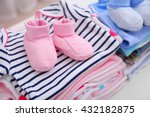 baby clothes for newborn on...   Shutterstock . vector #432182875
