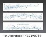 vector network banner templates ... | Shutterstock .eps vector #432190759